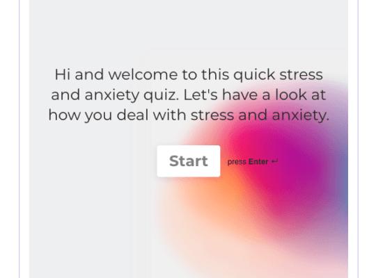 Free Stress Quiz
