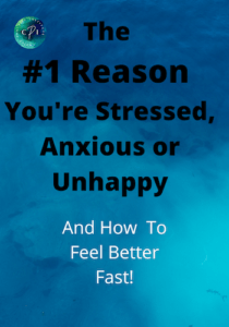 The # Reason you're stressed, anxious or unhappy